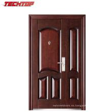 TPS-078sm Exterior Modern House Buildng Steel Material Puerta de seguridad