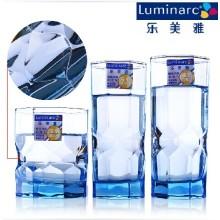Luminarc Blue Solid Farbe Glas Tumbler (J4135)