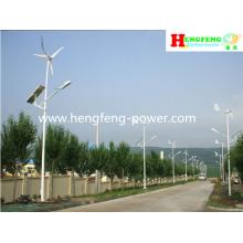 Rua do vento & solar híbrido luz com preço do competidor
