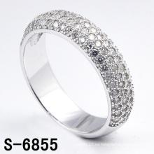 Anillo de plata esterlina de la última joyería de la manera del diseño (S-6855. JPG)