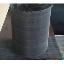 Epoxy Coated Wire Mesh/Black Wire Mesh/Black Iron Woven Cloth