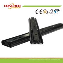 Black Steel Ball Bearing Slide/Drawer Slide Runner