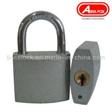 Silver Pad Iron Padlock, Grey Iron Padlock. Clé normale (303S)