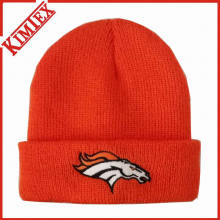 Novo 2016 malha bordado Beanie Hat