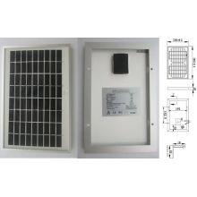 9В 18В 5Вт Монокристаллическая Солнечная система освещения панели фотоэлектрических модулей с одобренный CE