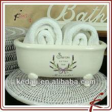 Ванна форма керамические полотенца ванны держатели