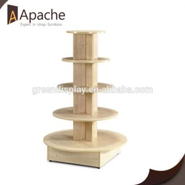 Good service manufacturer hot bent cosmetic acrylic display stand