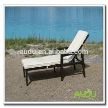 Audu Rattan Piscina al aire libre Folding Beach Chair Dimensiones Especificaciones