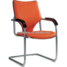 Monograma de estilo simples cadeira de escritório de couro F601