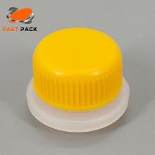 cápsulas de aerossol de plástico com funil em estoque
