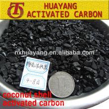 850mg / g Jodzahl Kokosnussschalen granulierter Kohlenstoff aktiviert