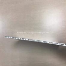 Зеркальный алюминиевый сотовый композитный лист для украшения