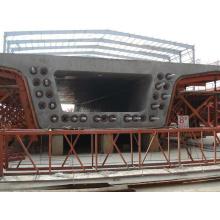 Équipement hydraulique de système de poutre-caisson pour la fabrication de ponts