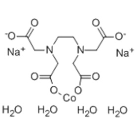 コバルト(2  - )、[[N、N'-1,2-エタンジイルビス[N  -  [(カルボキシ-kO)メチル]グリシナト-kN、kO]](4  - )]  - 、ナトリウム(1:2)、 (57254191、OC-6-21) -  CAS 15137-09-4