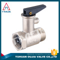 TMOK 1/2'' Brass safety valve with black plastic handle for water boiler brass air relief valve pressure reduce valve