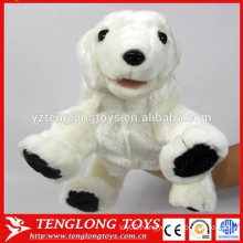 plush animal stuffed dog toy hand puppets for adult