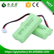 Bateria recarregável de alta qualidade de Geilienegy CPH-515D 2.4v 800mah bateria ni-mh
