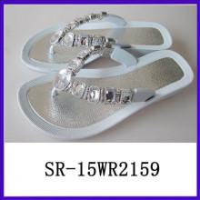 Sandalia cristalina de la mujer de las sandalias más lastest de la venta de la mujer de las sandalias más lastest calientes de la mujer