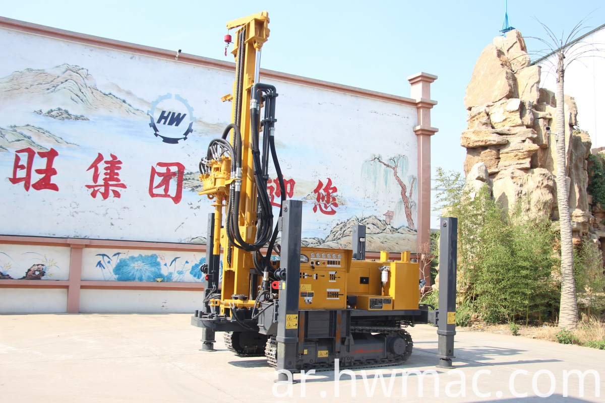 crawler drilling rig