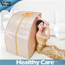 La terapia de la ducha de la sauna pierde la sauna plegable portátil del infrarrojo lejano