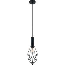 Черный железный подвесной светильник для столовой (MD8073-B)