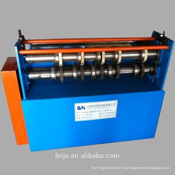 Cortadora galvanizada de la hoja que hace la máquina / máquina de corte de la placa de acero