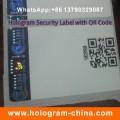 Customized Design Hot Stamped Paper Hologram Sticker