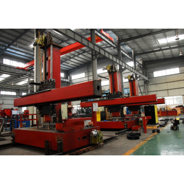 Welding Column and Boom untuk Double-Wall Oil Tank