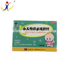 Custom Children Resistant Cardboard Paper Pill Box