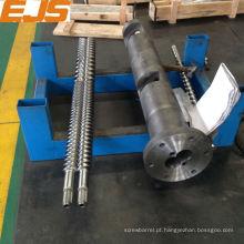 93/26 paralelo barrel rosca para extrusora de parafuso duplo PVC