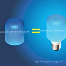 Couvercle d'ampoule en silicone élastique coloré