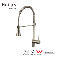 Haijun cUpc Pull Down Brass Body Single Handle Kitchen Faucet