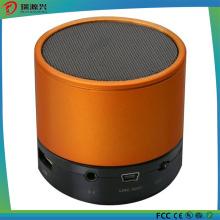 Orador sem fio portátil da tampa do metal mini Bluetooth