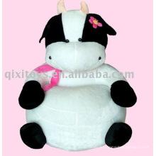 розовый плюшевые игрушка корова диван животное