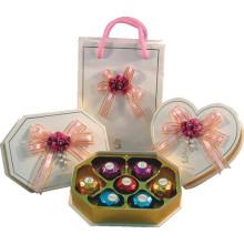 Creative Chocolate Box / Chocolate Bag with Tray and Ribbon