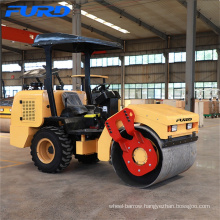 Vibratory Single Drum Roller with Pneumatic Tyres