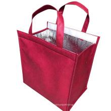 Keep temperature insulated water bottle holder cooler bag