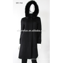 Hohe Qualität Neue Winter frauen Mantel Beiläufige Dünne Damen Wolljacken Kaschmir Mantel S / M / L / XL / XXL