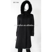 Высокое качество Новый зимний женщин пальто свободного покроя тонкий дамы шерстяные куртки кашемира пальто s/М/ L/ ХL/ХХL