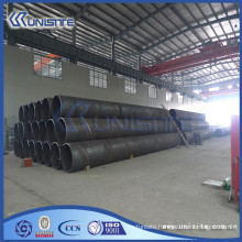 high quality steel welding dredge pipe with or without flanges (USB2-055)