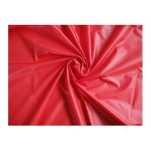 Tissu de taffetas de Wihte de polyester de 75D, couleurs adaptées aux besoins du client