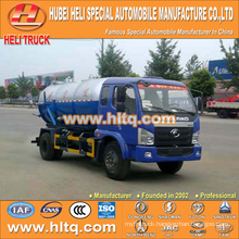 FOTON 4x2 6000L vacuum suction tank truck hot sale