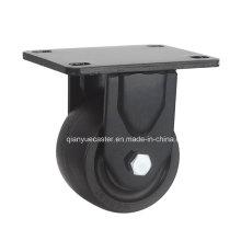 Roulette pivotante en nylon de 3 pouces à bas, 500 kg Chargement