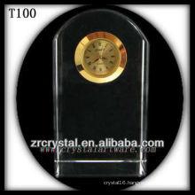 K9 Blank Crystal Clock for laser engraving