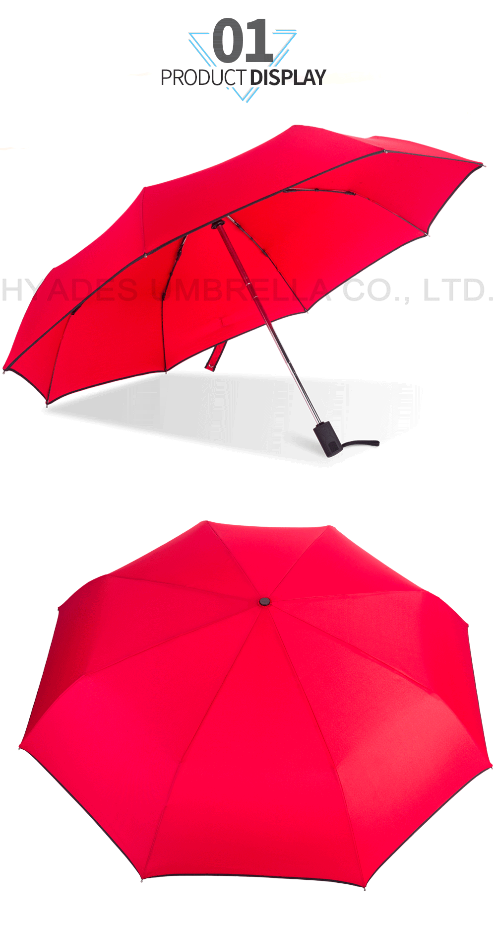 folding umbrella customize