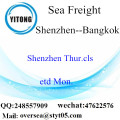 Shenzhen Port LCL Consolidation to Bangkok