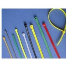 Hochwertiges Weiß Ob widerstandsfähiger weicher Nylon-Kabelbinder