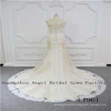 Sleeveless with Perfect Lace Wedding Dress