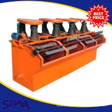 Machine de flottation minière de Sbm pour le minerai de cuivre, prix de machine de flottation de minerai de cuivre