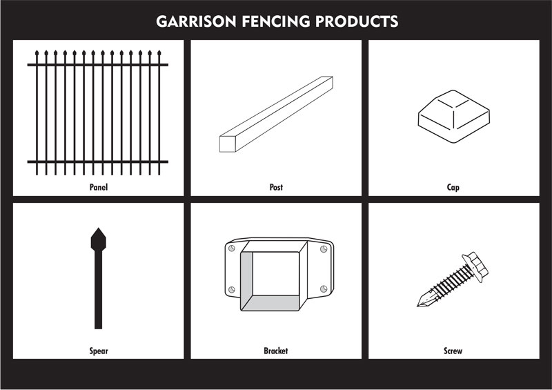garrison fence,heavy duty security fencing-3